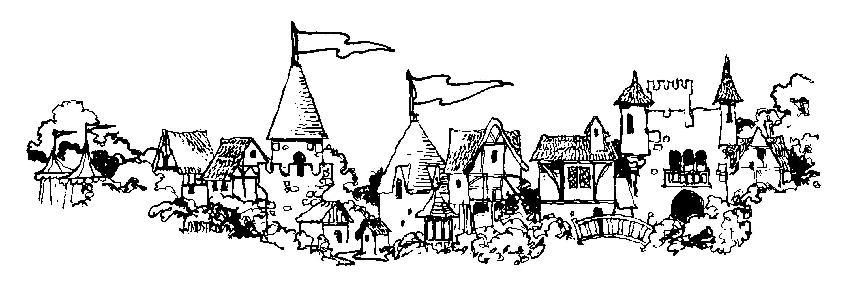clipart of village - photo #38